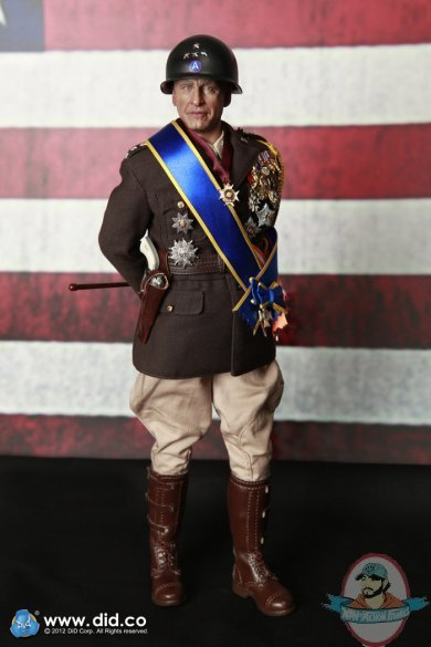 1 6 Scale General Patton 12 Inch Figures By Did Usa Man