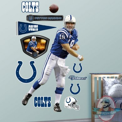 Fathead peyton manning home indianapolis colts nfl man of fathead peyton manning home indianapolis colts nfl voltagebd Choice Image