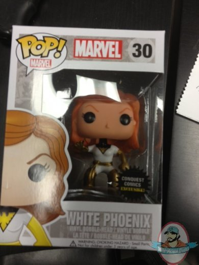 Pop Marvel White Phoenix Conquest Comics Exclusive Vinyl