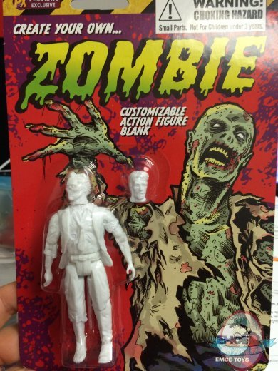 Create Your Own Comic Hero Px Zombie In Suit 4 Inch Action