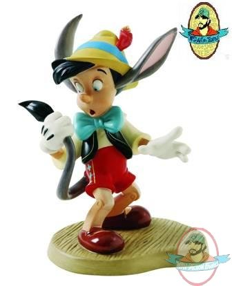 Wdcc Pinocchio A Terrifying Tail Figurine Disney Statue