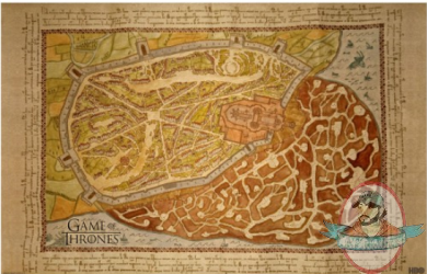 Game Of Thrones King S Landing Map Poster Quot A Song Of Ice