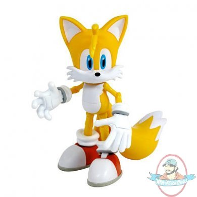 Sonic 20th Anniversary Superposer Figure Tails By Jazwares