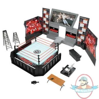 Wwe Raw Arena Playset Ring Jakks Exclusive Tables Chair