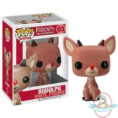 Pop! Holiday Rudolph the Red-Nosed Reindeer Vinyl Figure by Funko ...