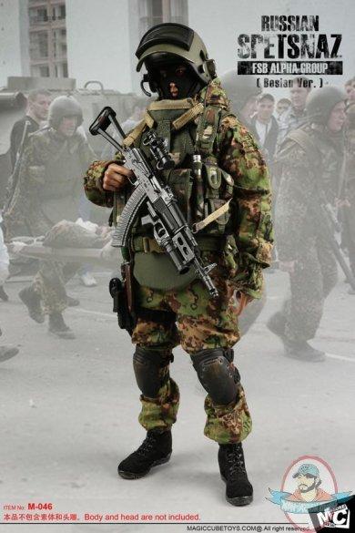 1/6 Accessories m04 Russian Spetsnaz FSB Alfa Group 2004