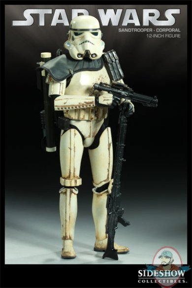Star Wars Sandtrooper Corporal 12 Quot Inch Figure Sideshow