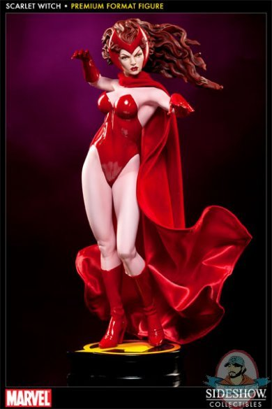 Scarlet Witch 1 4 Scale Premium Format Figure By Sideshow
