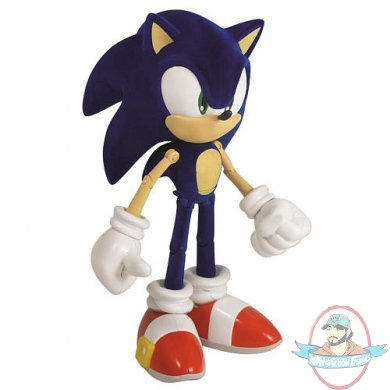 Sdcc Sonic The Hedgehog Modern Sonic 10 Inch Figure By Jazwares Man Of Action Figures
