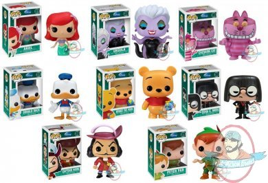 Pop Disney Set Of 8 Figures By Funko Man Of Action Figures