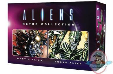 Eaglemoss 1//16 Alien /& Predator SNAKE /& Mantis Rétro Pack issue #1