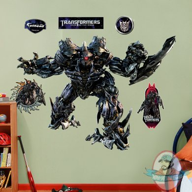 Fathead Transformers Shockwave  Dark of the Moon Man of Action Figures - Fat Head Wall Stickers