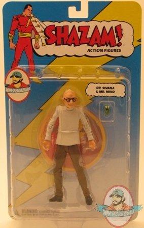 Action Figure Dr Sivana with Mr Mind DC Direct Shazam