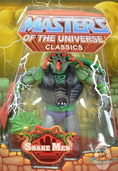 Masters Of The Universe Classics Snake Face Eternia Figure