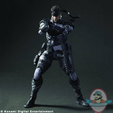 Metal Gear Solid Play Arts Kai Solid Snake Action Figure