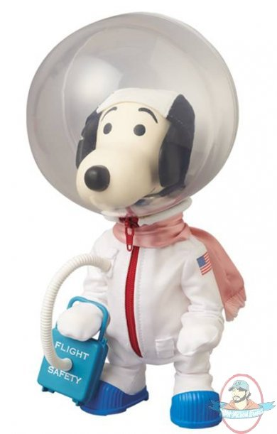 Peanuts Snoopy Vinyl Collector Doll Vcd Astronauts Version