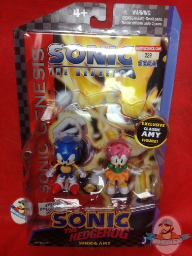 Sonic The Hedgehog Exclusive Comic Book With 2 Pack Figure