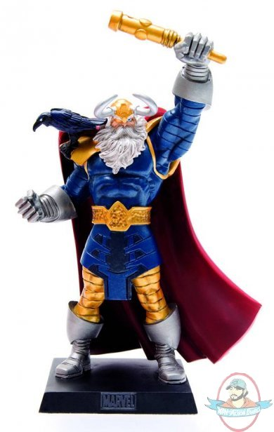 Classic Marvel Figurine Collection Magazine Spec Odin by