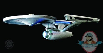 Star Trek Refit Uss Enterprise Battle Damaged Artisan