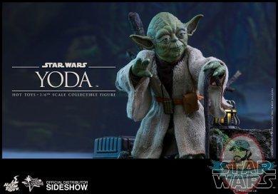 1 6 Star Wars Yoda Movie Masterpiece Series Hot Toys Man