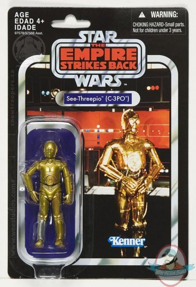 Star Wars Vintage Toys : Star wars the vintage collection c po by hasbro man of