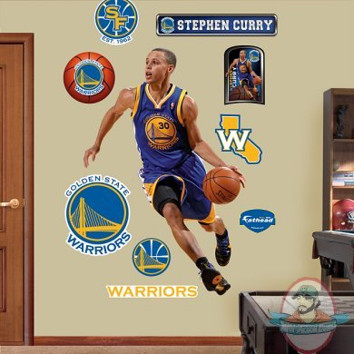 Fathead Nba Stephen Curry Golden State Warriors Man Of
