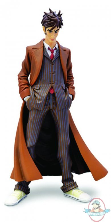 Doctor Who 10th Doctor Dynamix Brown Suit Figure Big Chief