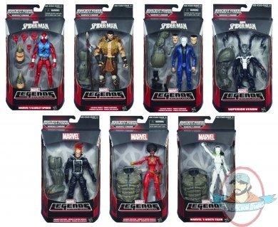 Amazing Spider Man 2 Marvel Legends Figures Case Hasbro