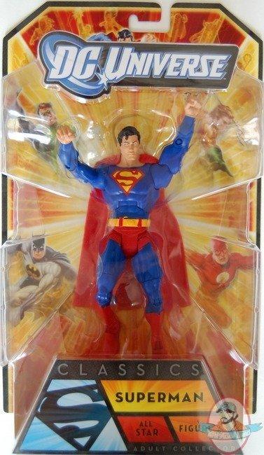dd9c0a8c5ab3 DC Universe Classics Superman Allstar Figure by Mattel