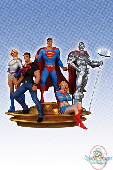 Superman Family Multi Statue Part 1 & 2 Superboy Power ... X Men Girl Power Form