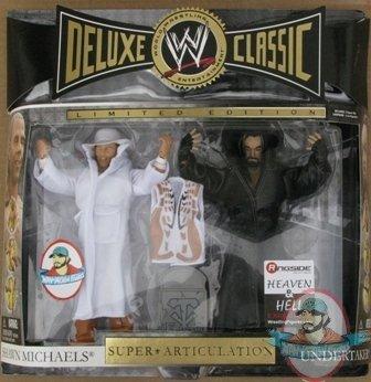 Deluxe Classic Superstars Shawn Michaels Undertaker Hbk | Man of