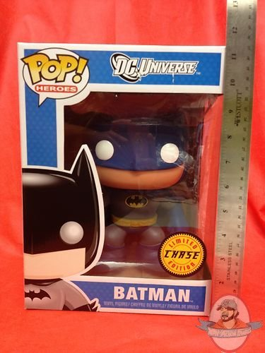 Pop Heroes 9 Quot Blue Batman Chase Piece By Funko Man Of