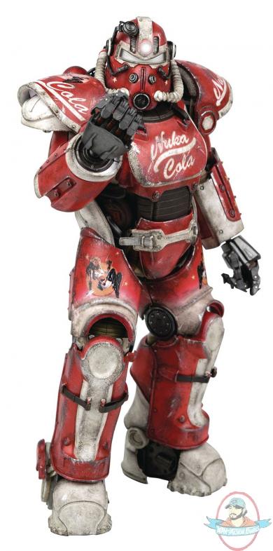 Fallout 4 T 51 Power Armor Nuka Cola Armor Pack Threezero Man Of