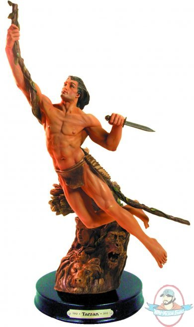 Tarzan 100th Anniversary Statue Edgar Rice Burroughs Inc