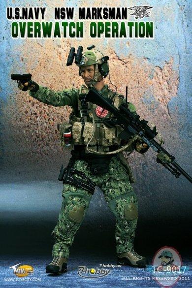 Toys City U S Navy Nsw Marksman Overwatch Operation 1 6th