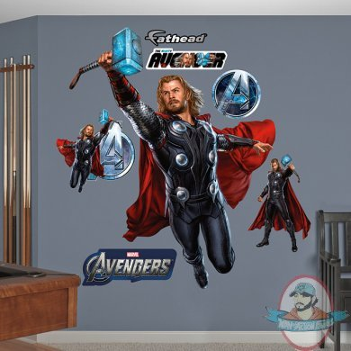 Fathead Marvel Avengers Thor The Mighty Avenger Man Of