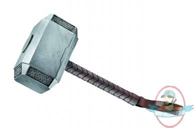marvel avengers thor hammer mjolnir prop replica by disguise man