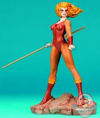 Thundercats   on Thundercats Cheetara 11  Inch Statue 1 7 Scale By Hard Hero   Man Of