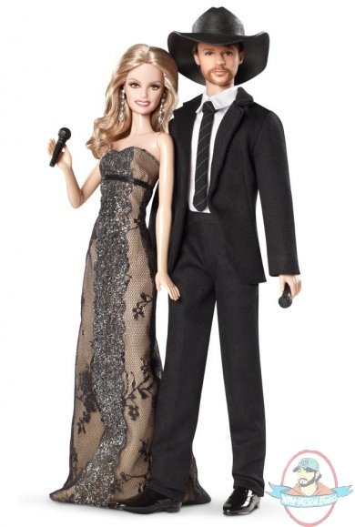 Barbie Tim Mcgraw And Faith Hill Dolls Giftset By Mattel