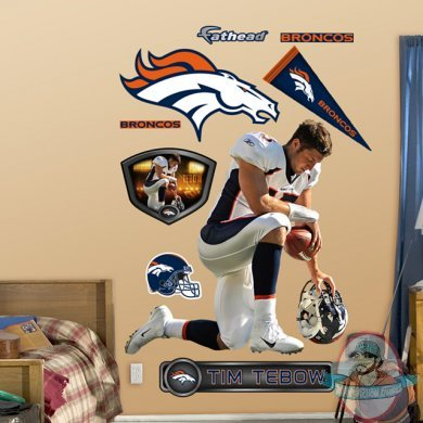 Fathead Tim Tebow Quot Tebowing Quot Denver Broncos Nfl Man Of