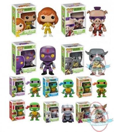 adff265df6c Pop! Television  Teenage Mutant Ninja Turtles Set of 10 Vinyl Funko. This  Listing is for ...