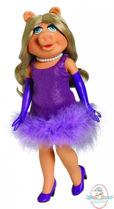 Tonner Muppets 11 Inches Miss Piggy Doll Man Of Action