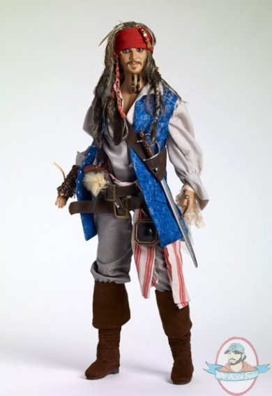 Captain Jack Sparrow 17 Inch Doll By Tonner Doll Man Of