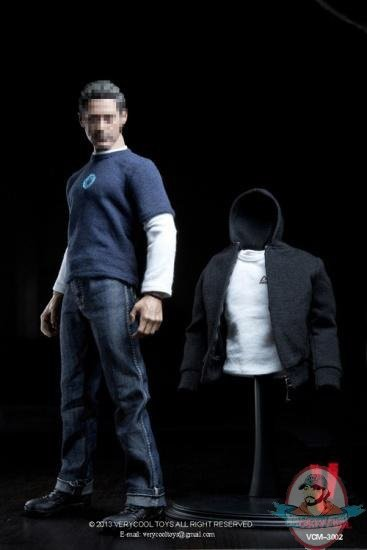 """1:6 Scale Black ninja Clothes set Model For 12/"""" Male Action Figure Doll Toys"""
