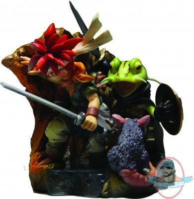 Chrono Trigger Formation Arts Box Set Man Of Action Figures