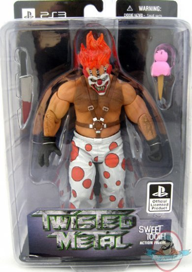 Twisted Metal Sweet Tooth Action Figure By Dc Unlimited