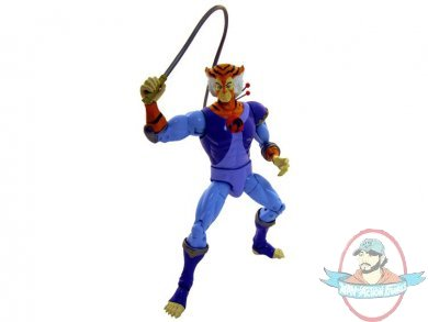 Thundercats Tygra on Thundercats 8  Classic Collector Figure Series 01   Tygra By Bandai