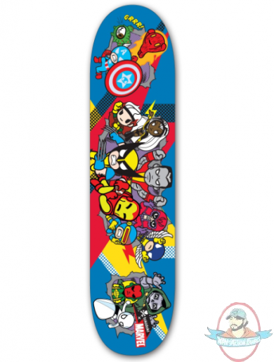 Tokidoki Deck Marvel Superheroes 4 Skateboard