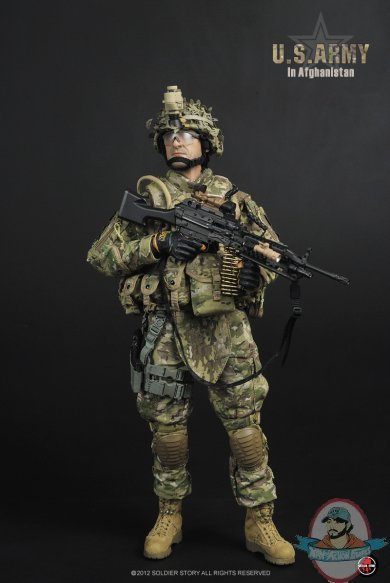 Soldier Story 1/6 U.S. ARMY In Afghanistan | Man of Action