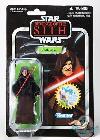 Hasbro Figurine Star Wars : Episode I : Hologramme Dark Sidious et droïde à